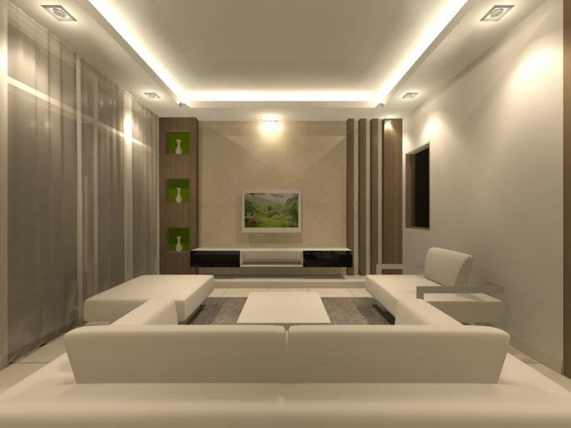 living hall living and dining interior design