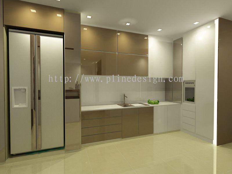 Dry Kitchen Design, Kitchen Design - PLINE CONSTRUCTION SDN BHD - ID ...