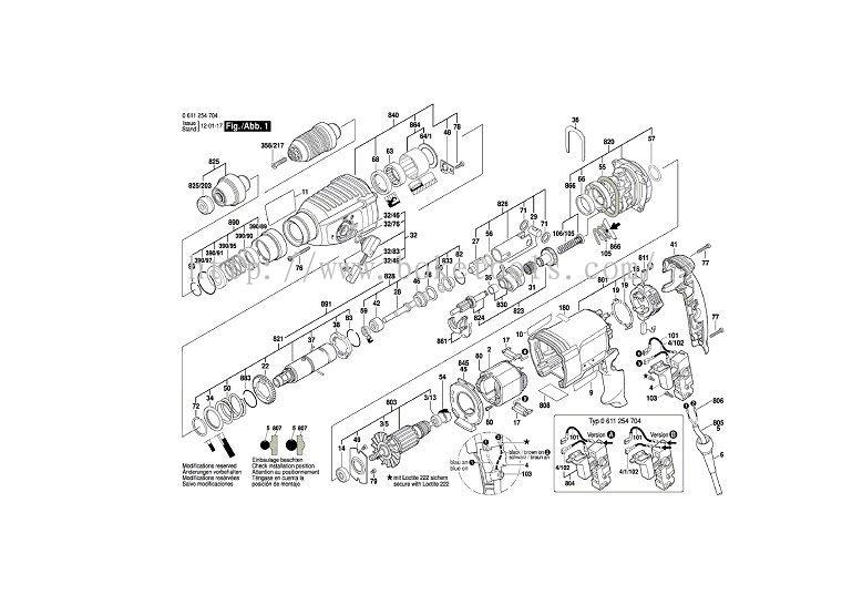 Инструкция На Перфоратор Bosch Hammer Drill-32 ...