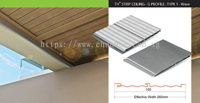 Strip Ceiling - G Profile