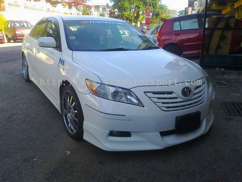 toyota camry bodykit 2009 jdm spec vox style bumper front lip on toyota camry 2008 jdm toyota. Black Bedroom Furniture Sets. Home Design Ideas