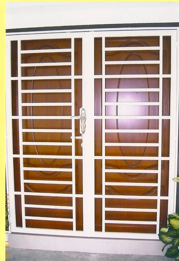 Pin main door grill design genuardis portal on pinterest Grill main door design