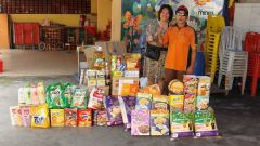 30.10.2014 Foods Donated to SunBeams Home