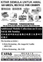 Additional Mobile Collection at Kota Kemuning