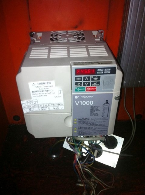 Yaskawa inverter v1000 installation in penang 04 may 2012
