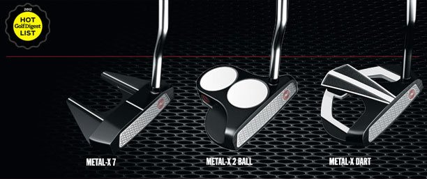 New odyssey metal x putters from vk golf semua house kl 05 may 2012