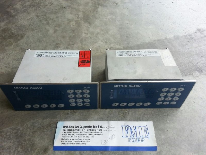METTLER TOLEDO B520 XK3124(B520) WEIGHING DISPLAY CONTROLLER REPAIR MALAYSIA INDONESIA