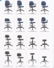 ET Typist Chair & Drafting Chair Series