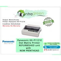 Panasonic KX-P1121E Dot Matrix Printer REFURBISHED unit with NEW PRINTHEAD