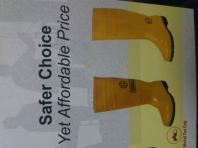 safety shoes  YELLOW BOOTS