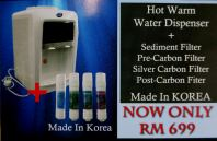 DS 8834 Hot & Warm Water Dispenser with 4 filters