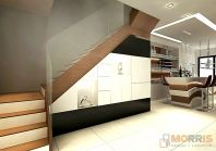 Stair Case Area Design Taman Gaya