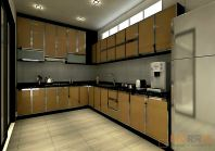 Wet Kitchen Design Taman Gaya