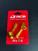 8MM RACING BOY TUBELESS VALVE ALLOY - GOLD