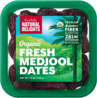 US Organic Medjool Dates - Natural Delight (340gm)