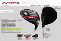 Exotics EX10 ADJUSTABLE DRIVER