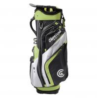 CLEVELAND FRIDAY CART BAG CHARCOAL/LIME/WHITE