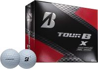 Bridgestone Golf Tour B X Golf Balls, White (One Dozen)