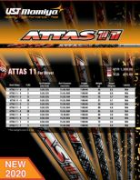 UST MAMIYA Attas 11 Golf Shaft