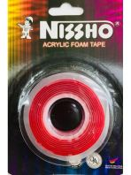 NISSHO ACRYLIC FOAM TAPE - CLEAR 12mm