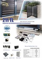 211TL TRACKLESS FOLDING AUTO GATE SYSTEM