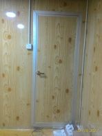 Wood Grain Texture Walling Cabin