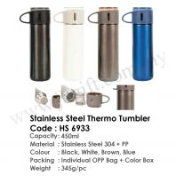 Stainless Steel Thermo Tumbler HS 6933