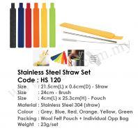 Essential Straw & Cutlery Set  HS  120