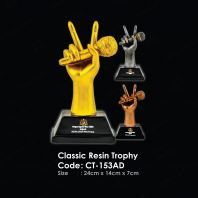 Sculpture 3D Figure Classic Resin Trophy CT-153AD