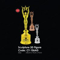 Sculpture 3D Figure CT-106AD