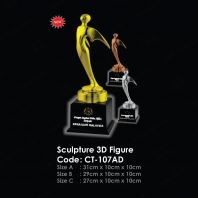 Sculpture 3D Figure CT-107AD