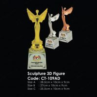 Sculpture 3D Figure CT-109AD