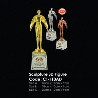 Sculpture 3D Figure CT-110AD