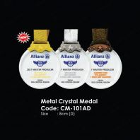 Fusion LED & Metal Crystal Medal CM-101AD