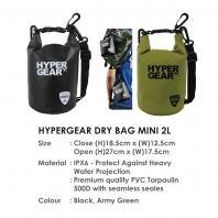 HYPERGEAR DRY BAG MINI 2L