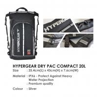 HYPERGEAR DRY PAC COMPACT 20L