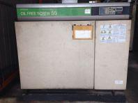 Rental 75 HP Hitachi Oil Free Air Compressor DSP-55A5II