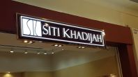 SITI KHADIJAH 3D LED box up front lit
