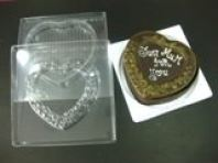 3D Love Shape Chocolate Mould