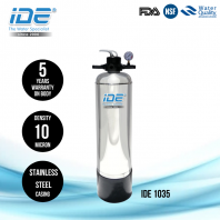 IDE 1035 Stainless Steel Outdoor Water Filter