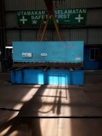 Used china hydraulic shearing 16mm x 3200mm