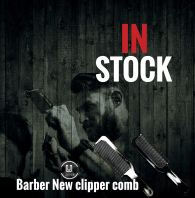 Barber New Clipper Comb