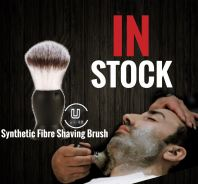 Barber Synthetic Fibre Shaving Brush