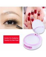 USB mini fan with air cooler for false eyelash extension make up fan with mirror