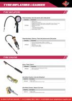 SP Tyre Inflators and Gauges