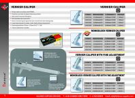 DASQUA Vernier Caliper/ Monoblock Vernier Caliper/ Vernier Caliper With Fine Adjustment/ Monoblock Vernier Caliper With Fine Adjustment