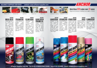 ANCHOR Aerosols (Applications:Hardness Test/Adhesion Test/Impact Test/Gloss Check/QC Control/etc)