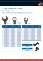 Torque Wrench End Fittings - 8mm Spigot Type