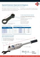 Special Extension Spanners & Adaptors