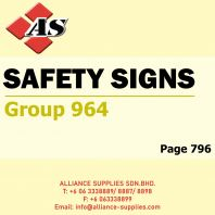 Safety Signs (Group 964)